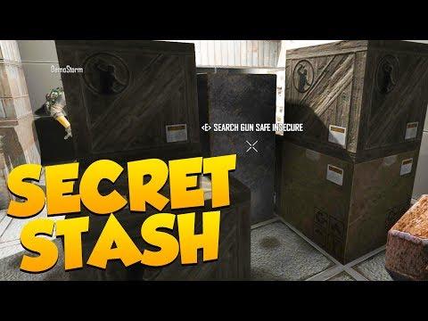 SECRET STASH - RARE BANDIT MASK!!! - 7 Days to Die Alpha 16 Multiplayer Gameplay #27