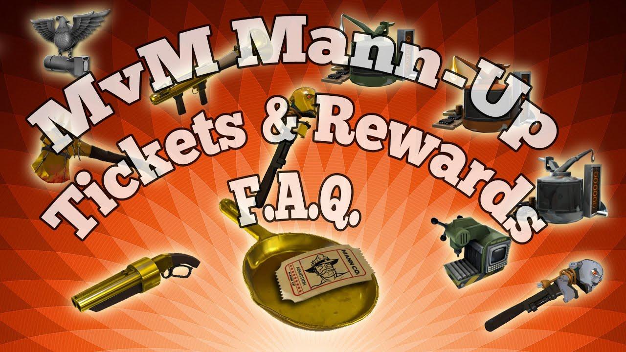 TF2 - MvM: Mann-Up, Tickets & Rewards FAQ Tutorial