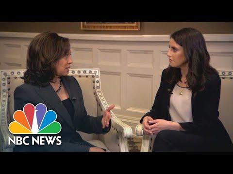Senator Kamala Harris On Her Know Your Value Moment | NBC News
