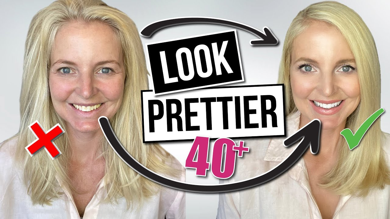 10 Easy Ways Women Over 40 and 50 Can Look Prettier Every Day