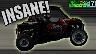 ROTARY POWERED Polaris RZR DRAG/WHEELIE BUILD | Forza Motorsport 7