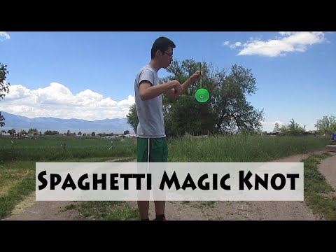 Spaghetti Magic Knot Diabolo Trick (Tutorial #13)