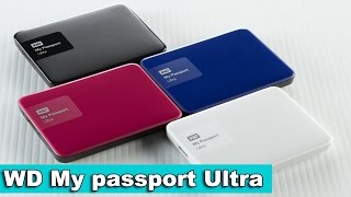 WD My Passport Ultra Обзор. 3Tb у тебя в кармане!