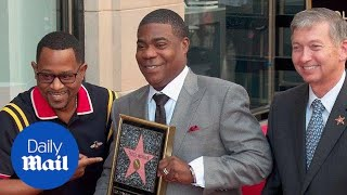 Tracy Morgan receives a Hollywood Walk of Fame star in style - Daily Mail