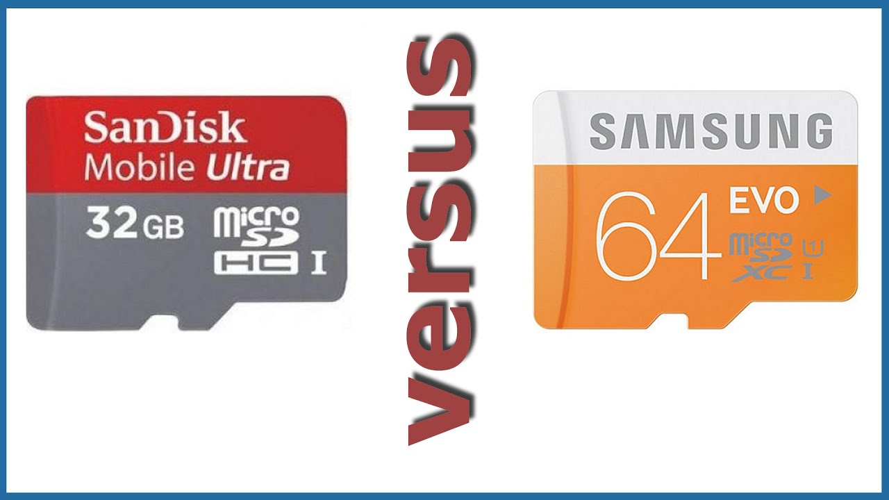 Sandisk Vs Samsung Evo Gskill Microsd Card 64gb Benchmark Micro Sd 64 Gb Pro With Adapter Performance Review Speed Test Youtube