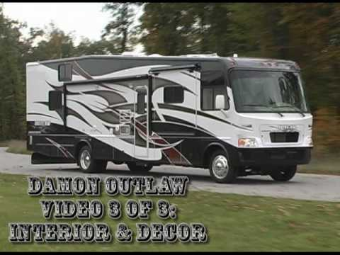 Review Of Damon Motor Coach 39 S Outlaw Motorhome Interior