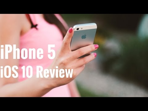iPhone 5 iOS 10 Review