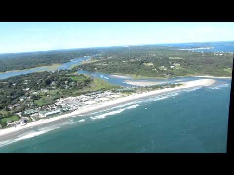 Helicopter tour over Newport RI