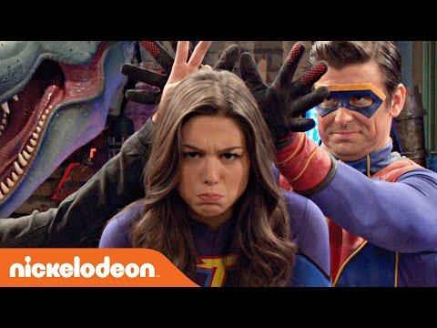 Danger & Thunder | Fortune-Teller Superhero Challenge | Nick