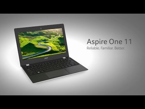 Acer's Aspire One 11 – Reliable. Familiar. Better.