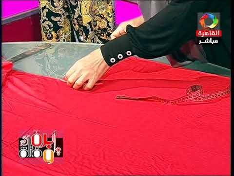 ابرة وفتلة: مع م.هدي ابو الخير ( طريقة تفصيل سالوبيت بناتي) 13-8-2015
