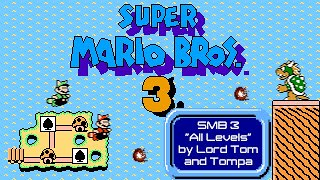 TASBot plays SMB3 100% by Lord Tom and Tompa - every level played faster than humanly possible