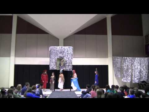 2015 Egyptian Fashion Show Class of 2020 Show 1