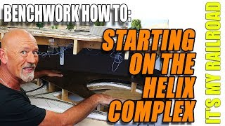 036: Working On The Helix Complex On My Model Railroad Layout