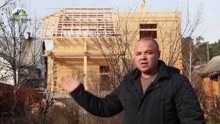 СТРОИТЕЛЬСТВО ДОМА ИЗ ПРОФИЛИРОВАННОГО БРУСА(В нашем ролике мы Вам продемонстрируем как строился дом из профилированного бруса. Строительство цокольно..., 2015-05-20T13:49:02.000Z)
