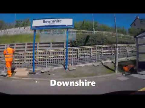 Train Journey To Larne On NI Railways Including Glider To Lanyon Place