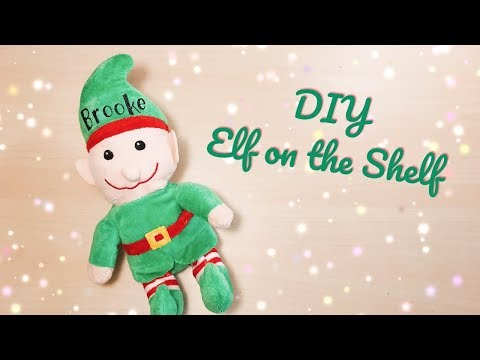 Dollar Tree Elf | How To Personalize W/ HTV | Elf On The Shelf Alternative | DIY Cricut Christmas