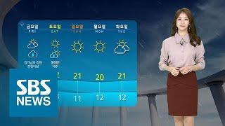 당분간 큰 추위 없어요…오늘 서울 낮 20도 / SBS