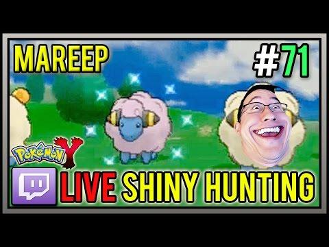 Pinkiplier The Shiny Mareep At 88 Horde Encounters | Live Shiny Pokemon #71 | Pokemon X And Y