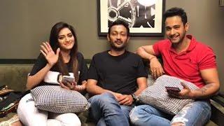 Nusrat Jahan Live with Yash Dasgupta and Birsa Dasgupta!