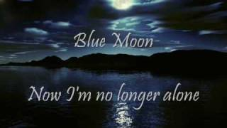 Blue Moon (by me with acoustic guitar)