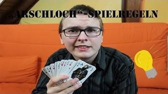 """""""Arschloch"""" - Spielregeln"""