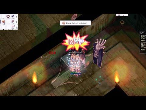 Ragnarok Online MSP [MVP] Grand Gross Paladin Vs Pharaoh (Valhalla Server)