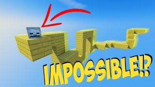 EXTREME PARKOUR TROLLS US!? - IMPOSSIBLE MINECRAFT CHALLENGE