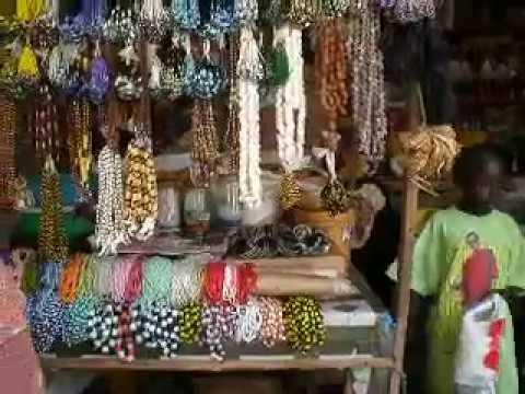 Tour at Albert Market, Banjul, The Gambia - Steven Heap