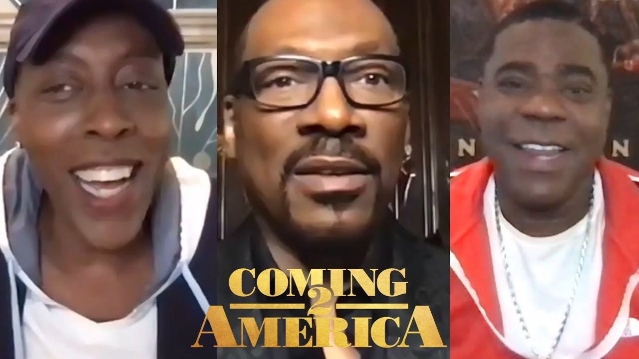 COMING 2 AMERICA: Backstage with Eddie Murphy, Arsenio Hall, Tracy Morgan and more!