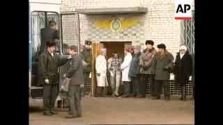 Kazakhstan - Launch of space shuttle