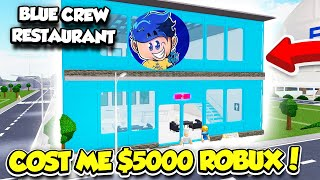 Spending 5000 ROBUX To Have The BIGGEST RUSSOPLAYS RESTAURANT In RESTAURANT TYCOON 2!! (Roblox)