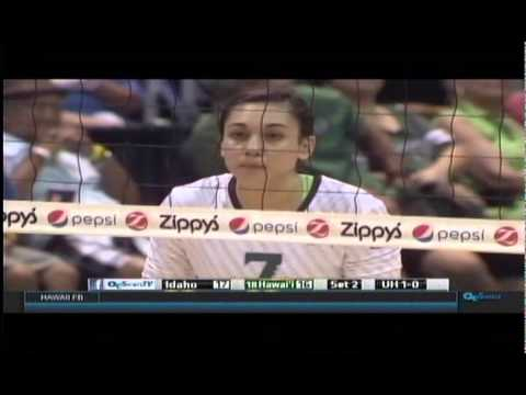 Rainbow Wahine Volleyball 2015  - #18 Hawaii Vs Idaho Vandals