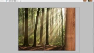 Paint.net видеоурок 3 (работа с градиентом, монтаж)