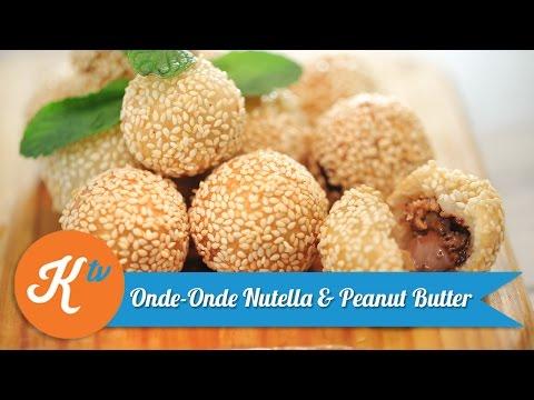 Nutella & Peanut Butter Ball | CHEF CHITRA