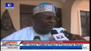 INEC Solicits Support of  Osun State Traditional Rulers