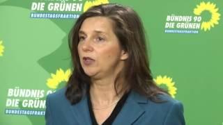 Katrin Göring Eckardt - Flüchtlinge bringen endlich Kultur