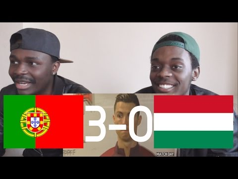 Messi Fans React To: Portugal vs Hungary 3-0 - All Goals & Highlights - 25/03/2017