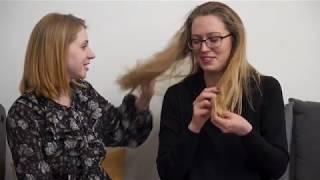 Химическая Завивка на длинных волосах