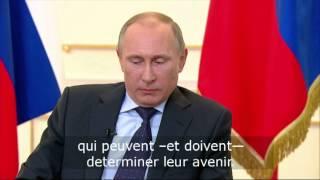 Pour Poutine, l