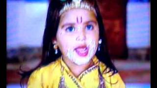 JAI SHRI KRISHNA - COMEDY SCENE OF DHRITI BHATIA .. MUST WATCH