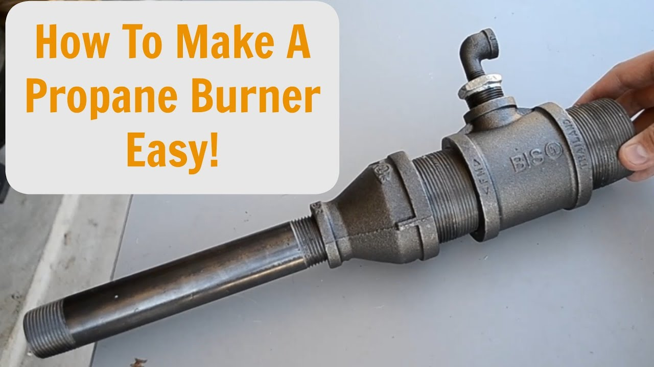 Propane Gas Forge Burner Plans