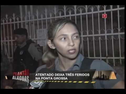 TENTADO EM PRAÇA PÚBLICA DEIXA FERIDOS NA PONTA GROSSA