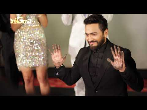 TAMER HOSNY BECOMES FIRST ARAB STAR WITH HAND & FOOT PRINT AT HOLLYWOOD'S TCL CHINESE THEATRE
