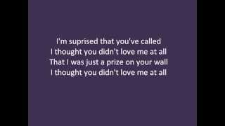 Jett Rebel -  Do You Love Me At All with lyrics