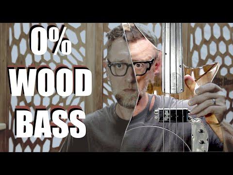 Acrylic and Aluminum Fretless Bass  | No Wood, only 'Tone Acrylic' :)