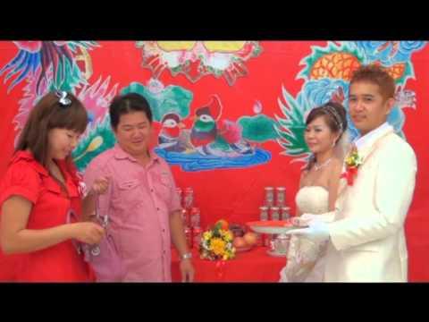 pernikahan orang HAKKA singkawang di HAPPY BULDING (part 1)