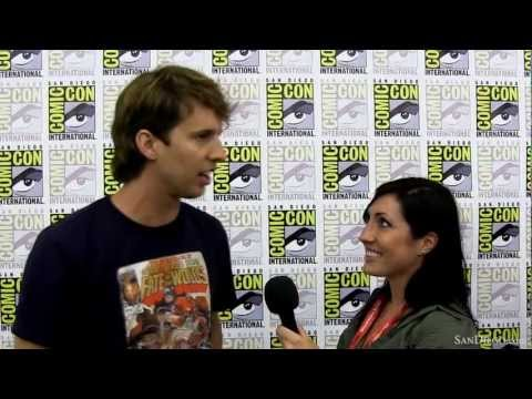 with Napoleon Dynamite cast at San Diego ComicCon 2011