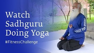 Sadhguru Shows Us How He Stays Fit For Life #FitnessChallenge