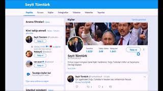Seyit Tümtürk'deb CİA siyaseti; Doğu Türkistan'a karşı ABD ve Çin işbirliği iddiası